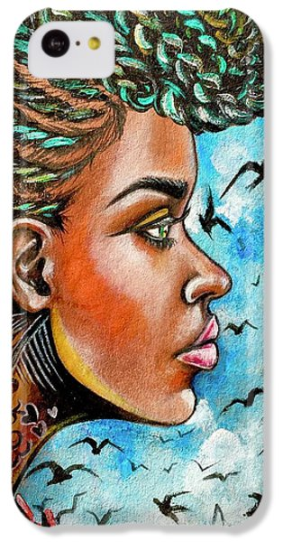 iPhone 5c Case - Crowned Royal by Artist RiA
