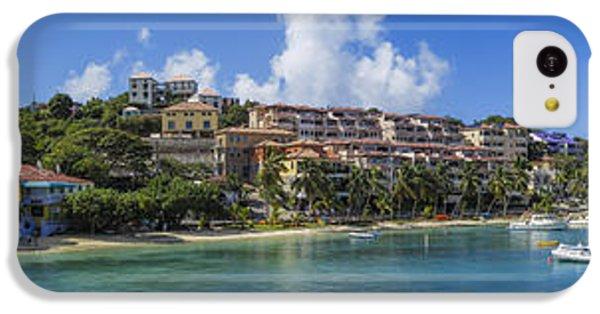 IPhone 5c Case featuring the photograph Cruz Bay, St. John by Adam Romanowicz