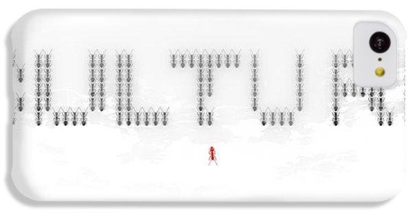 Ant iPhone 5c Case - Culture by Pixel Chimp