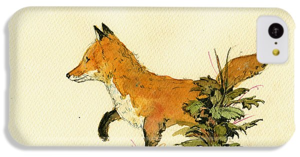 Cute Fox In The Forest IPhone 5c Case