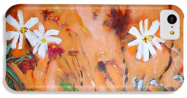 Daisies Along The Fence IPhone 5c Case by Winsome Gunning