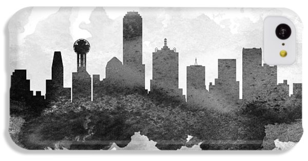 Dallas Cityscape 11 IPhone 5c Case by Aged Pixel