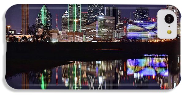 Dallas Reflecting At Night IPhone 5c Case