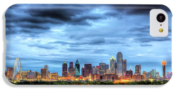 Dallas Skyline IPhone 5c Case
