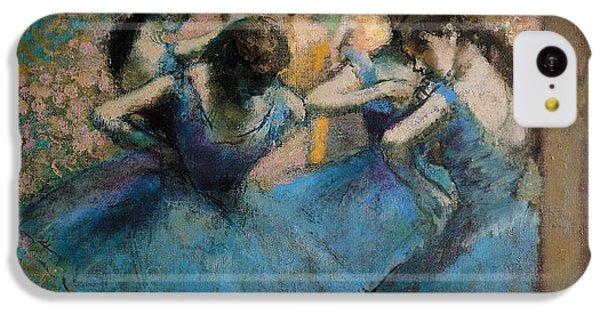 Dancers In Blue IPhone 5c Case