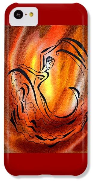 Dancing Fire I IPhone 5c Case