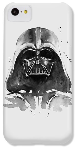 Darth Vader Watercolor IPhone 5c Case by Olga Shvartsur