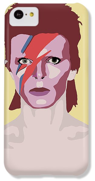 David Bowie IPhone 5c Case by Nicole Wilson