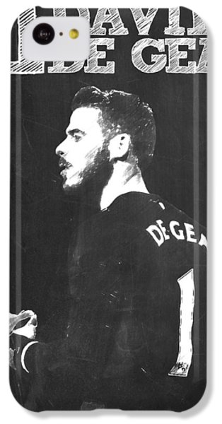 David De Gea IPhone 5c Case by Semih Yurdabak