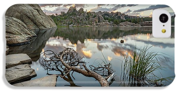 IPhone 5c Case featuring the photograph Dawn At Sylvan Lake by Adam Romanowicz