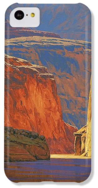 Deep In The Canyon IPhone 5c Case by Cody DeLong