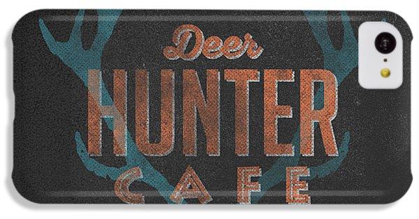 Deer iPhone 5c Case - Deer Hunter Cafe by Edward Fielding