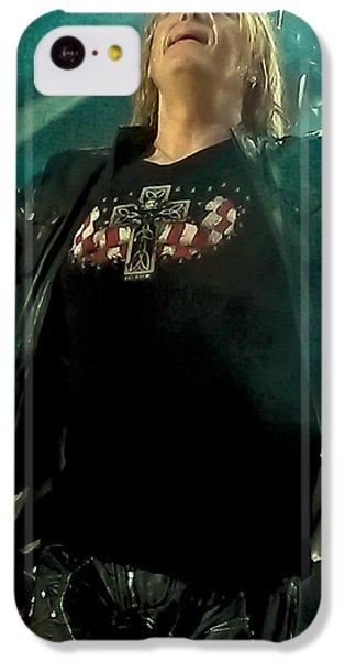 Def Lappard's Joe Elliott IPhone 5c Case by David Patterson