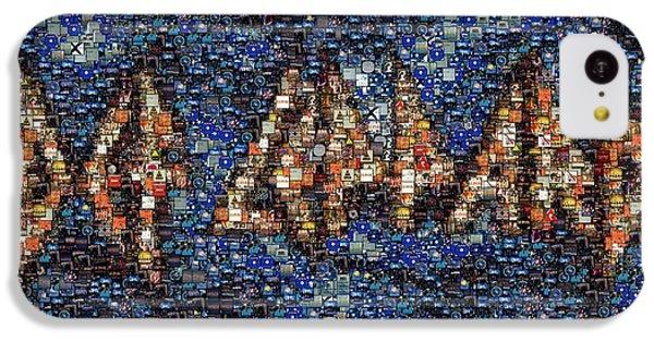 Def Leppard Albums Mosaic IPhone 5c Case by Paul Van Scott