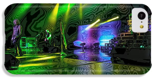 Def Leppard At Saratoga Springs 3 IPhone 5c Case by David Patterson