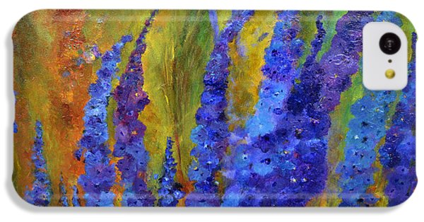 Delphiniums IPhone 5c Case by Claire Bull