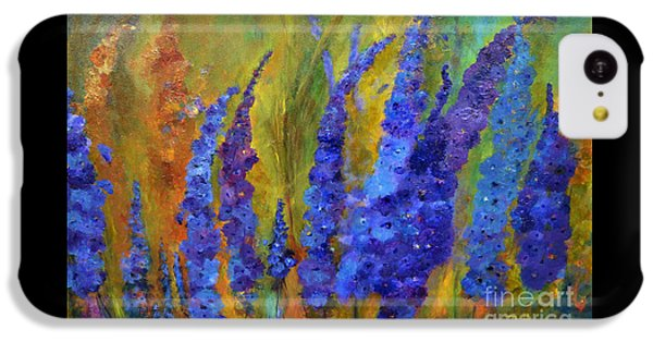 Delphiniums IPhone 5c Case