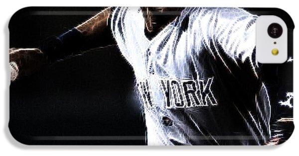 Derek Jeter IPhone 5c Case by Paul Ward