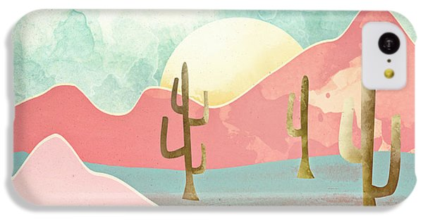 Landscapes iPhone 5c Case - Desert Mountains by Spacefrog Designs