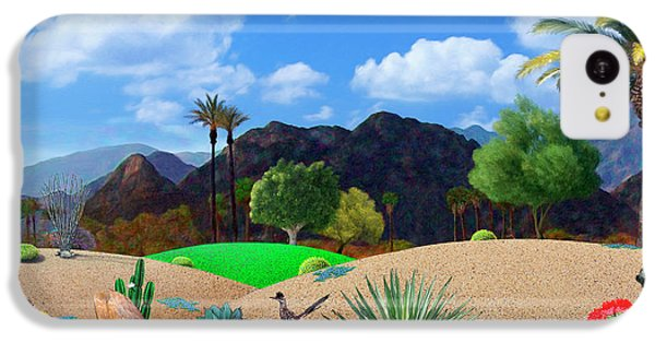 Desert iPhone 5c Case - Desert Splendor by Snake Jagger
