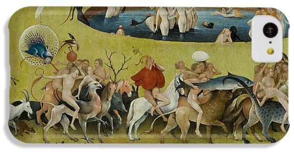Detail From The Central Panel Of The Garden Of Earthly Delights IPhone 5c Case by Hieronymus Bosch