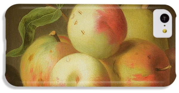 Detail Of Apples On A Shelf IPhone 5c Case