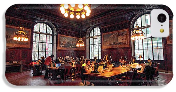 IPhone 5c Case featuring the photograph Dewitt Wallace Periodical Room by Jessica Jenney