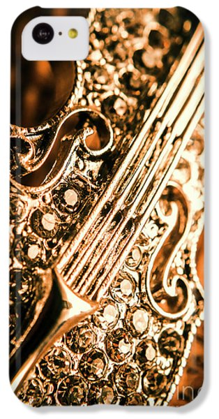 Violin iPhone 5c Case - Diamond Ensemble by Jorgo Photography - Wall Art Gallery