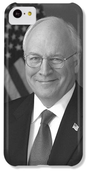 Dick Cheney iPhone 5c Case - Dick Cheney by War Is Hell Store