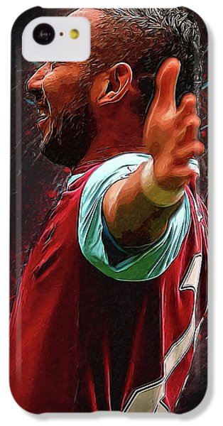 Dimitri Payet IPhone 5c Case by Semih Yurdabak