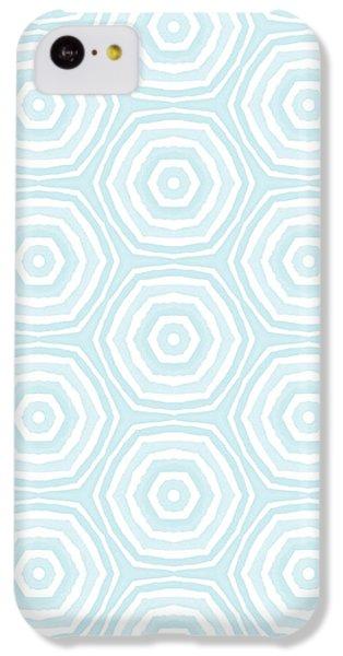 Beach iPhone 5c Case - Dip In The Pool -  Pattern Art By Linda Woods by Linda Woods