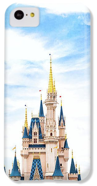 Castle iPhone 5c Case - Disneyland by Happy Home Artistry