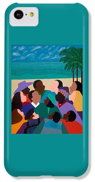 iPhone 5c Case - Diversity In Cannes by Synthia SAINT JAMES