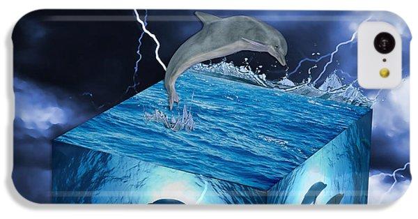 Dolphin Art IPhone 5c Case