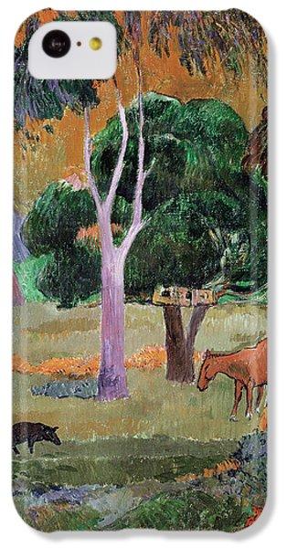 Dominican Landscape IPhone 5c Case by Paul Gauguin