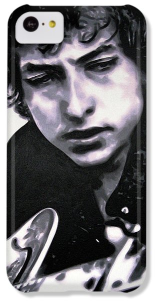 Bob Dylan iPhone 5c Case - Dont Think Twice Its Alright by Hood alias Ludzska