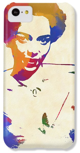 Apollo Theater iPhone 5c Case - Dorothy Dandridge Watercolor by Dan Sproul