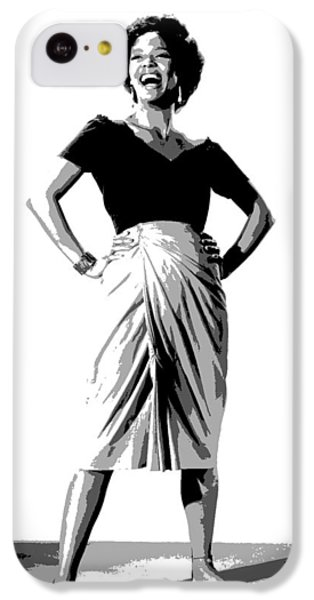 Dorothy Jean Dandridge IPhone 5c Case by Charles Shoup