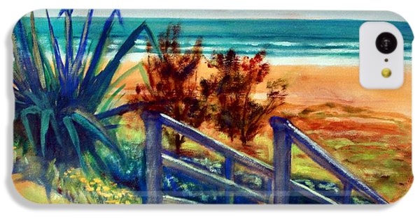 Down The Stairs To The Beach IPhone 5c Case by Winsome Gunning