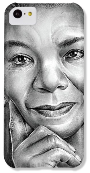 Doctor iPhone 5c Case - Dr Maya Angelou by Greg Joens