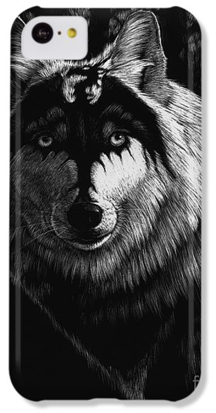 Dragon Wolf IPhone 5c Case