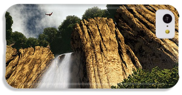 Dragons Den Canyon IPhone 5c Case by Richard Rizzo