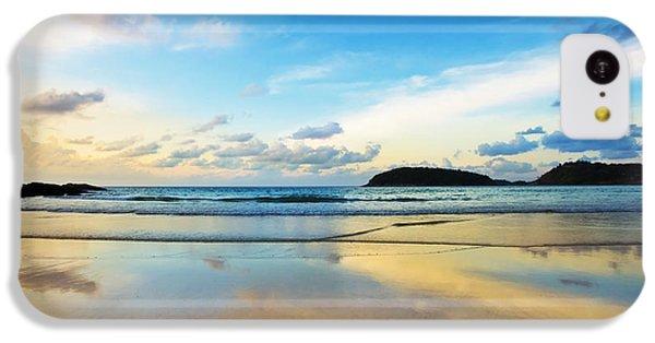 Beautiful Sunrise iPhone 5c Case - Dramatic Scene Of Sunset On The Beach by Setsiri Silapasuwanchai