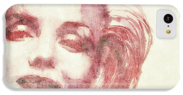 Marilyn Monroe iPhone 5c Case - Dream A Little Dream Of Me by Paul Lovering