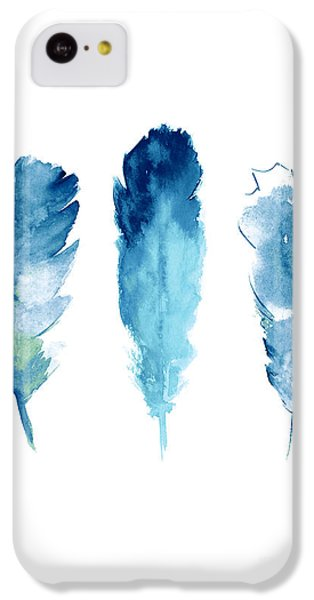 Dream Catcher Feathers Painting IPhone 5c Case by Joanna Szmerdt