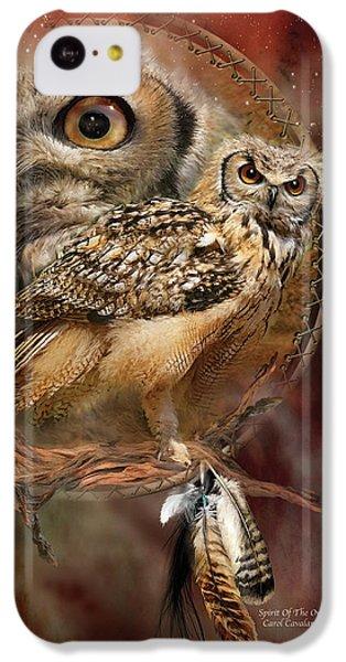 Dream Catcher - Spirit Of The Owl IPhone 5c Case