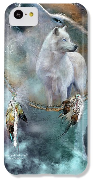 Dream Catcher - Spirit Of The White Wolf IPhone 5c Case