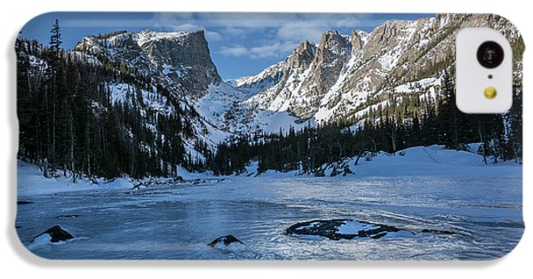 IPhone 5c Case featuring the photograph Dream Lake Morning by Aaron Spong