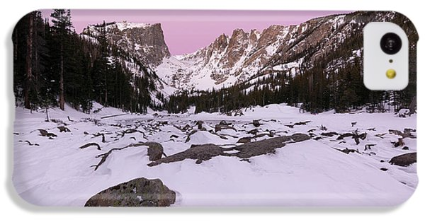IPhone 5c Case featuring the photograph Dream Lake - Pre Dawn by Aaron Spong