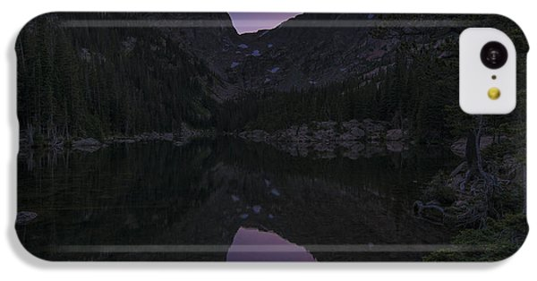 IPhone 5c Case featuring the photograph Dream Lake Reflections by Gary Lengyel